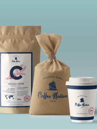 TOTALNY REBRANDING PALARNI KAWY COFFEE NATION