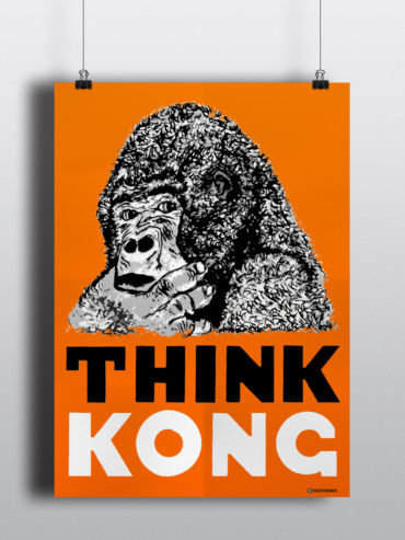 THINK KONG – PLAKAT